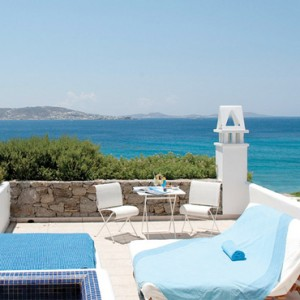 The VIP Suite 2 Grace Mykonos Luxury Greece Holiday Packages