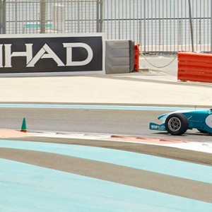 abu dhabi honeymoon packages - yas viceroy abu dhabi - racetrack