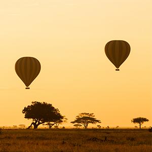 Zanzibar Honeymoon Packages Honeymoon Multi Centre Packages Serengeti Hot Air Balloon