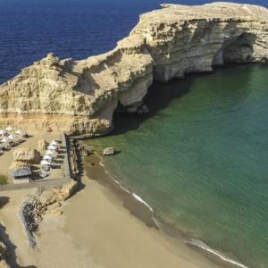 Abu Dhabi Honeymoon Packages Shangri La Al Husn Resort And Spa Beach 3