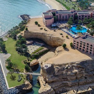 Abu Dhabi Honeymoon Packages Shangri La Al Husn Resort And Spa Exterior