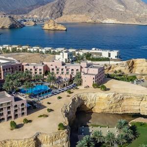 Abu Dhabi Honeymoon Packages Shangri La Al Husn Resort And Spa Exterior 2