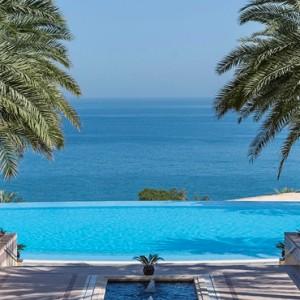 Abu Dhabi Honeymoon Packages Shangri La Al Husn Resort And Spa Pool