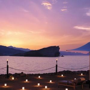 Abu Dhabi Honeymoon Packages Shangri La Al Husn Resort And Spa Sunset