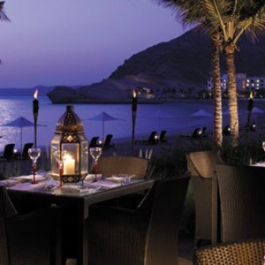 Oman Honeymoon Packages Al Bandar At Shangri La AlJissah Capri Court