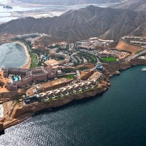 Oman Honeymoon Packages Al Bandar At Shangri La AlJissah Exterior 5