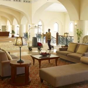 Oman Honeymoon Packages Al Bandar At Shangri La AlJissah Lobby