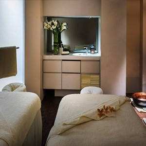 Singapore Honeymoon Packages Fullerton Hotel Couple Spa Treatment Room