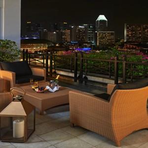 Singapore Honeymoon Packages Fullerton Hotel Fullerton Suite Balcony