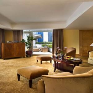 Singapore Honeymoon Packages Fullerton Hotel Fullerton Suite Living Area