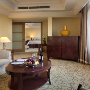 Singapore Honeymoon Packages Fullerton Hotel Palladian Suite Living Area1
