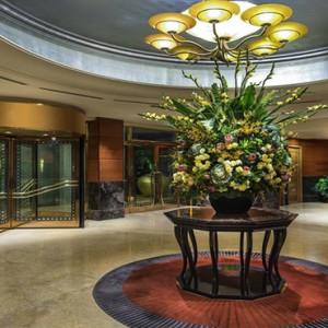 Singapore Honeymoon Packages Fullerton Hotel Reception
