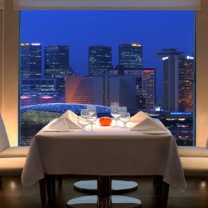 Singapore Honeymoon Packages Fullerton Hotel The Lighthouse Restaurant And Rooftop Bar