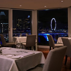 Singapore Honeymoon Packages Fullerton Hotel The Lighthouse Restaurant And Rooftop Bar1