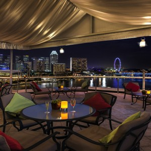 Singapore Honeymoon Packages Fullerton Hotel The Light House Rooftop Bar