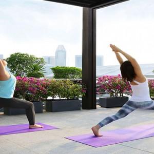 Singapore Honeymoon Packages Fullerton Hotel Yoga