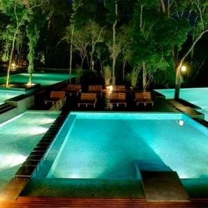 south america honeymoon packages - loi suites iguazu - pool