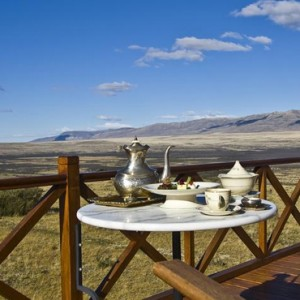 Argentina Honeymoon Packages Eolo El Calafate Patagonia Afternoon Tea