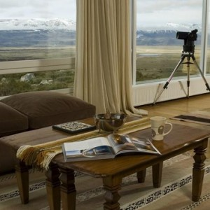 Argentina Honeymoon Packages Eolo El Calafate Patagonia Lounge