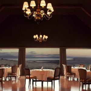 Argentina Honeymoon Packages Eolo El Calafate Patagonia Restaurant