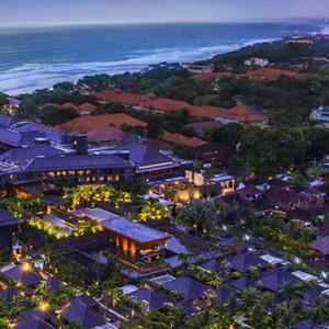 Bali Honeymoon Packages Hotel Indigo Bali Seminyak Beach Aerial View