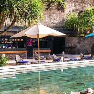 Bali Honeymoon Packages Hotel Indigo Bali Seminyak Beach Cave Pool Lounge