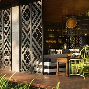 Bali Honeymoon Packages Hotel Indigo Bali Seminyak Beach Tree Bar Exterior