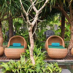 Bali Honeymoon Packages Hotel Indigo Bali Seminyak Beach Sun Loungers