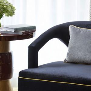 Hong Kong Honeymoon Packages The Langham Hong Kong Director Suite Armchair