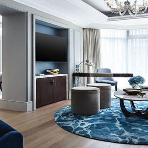 Hong Kong Honeymoon Packages The Langham Hong Kong Harmony Suite Living Room2