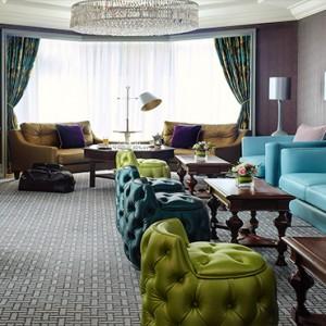 Hong Kong Honeymoon Packages The Langham Hong Kong Langham Club Lounge Seating Area