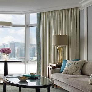 Hong Kong Honeymoon Packages The Langham Hong Kong One Bedroom Suite Living Room