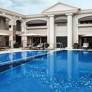 Hong Kong Honeymoon Packages The Langham Hong Kong Swimming Pool