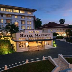Malaysia Honeymoon Packages The Majestic Hotel Kuala Lumpur Hotel Exterior