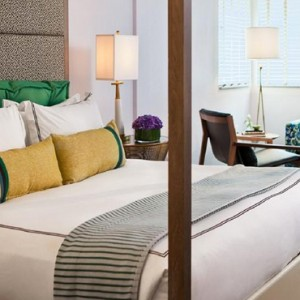 Miami Honeymoon Packages Kimpton Surfcomber Hotel Miami South Beach City View Luxury Suite 2