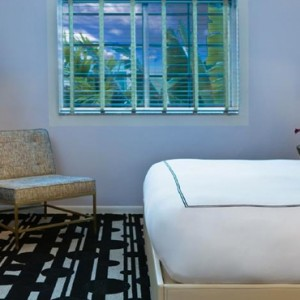 Miami Honeymoon Packages Kimpton Surfcomber Hotel Miami South Beach Courtyard King Deluxe