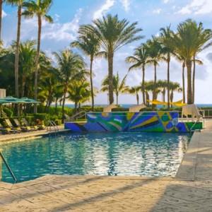 Miami Honeymoon Packages Kimpton Surfcomber Hotel Miami South Beach Exterior 2