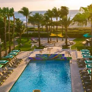 Miami Honeymoon Packages Kimpton Surfcomber Hotel Miami South Beach Pool 3