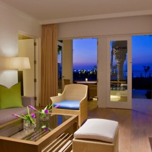 Peru Honeymoon Packages Hotel Paracas A Luxury Collection Balcony Suite Terrace 2