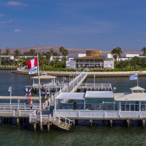 Peru Honeymoon Packages Hotel Paracas A Luxury Collection Private Pier
