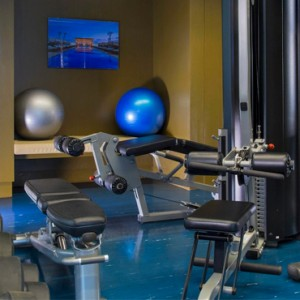 Peru Honeymoon Packages Hotel Paracas A Luxury Collection Gym 2