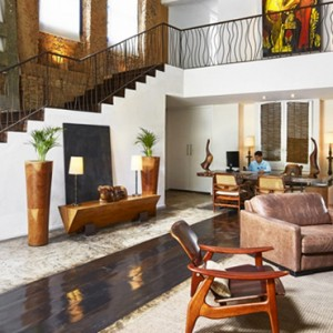 brazil honeymoon packages - hotel santa teresa mgallery by sofitel - lobby