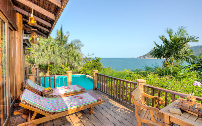 Thialand Pool Villa Honeymoon Packages Santhiya Resort