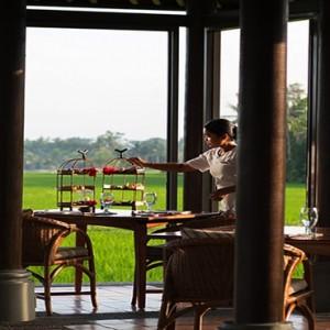 Bali Honeymoon Packages The Chedi Club Tanah Gajah, Ubud Afternoon Tea