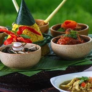 Bali Honeymoon Packages The Chedi Club Tanah Gajah, Ubud Balinese Food