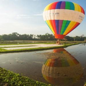 Bali Honeymoon Packages The Chedi Club Tanah Gajah, Ubud Hot Air Balloon Ride