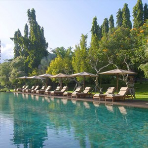 Bali Honeymoon Packages The Chedi Club Tanah Gajah, Ubud Main Pool