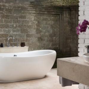 Bali Honeymoon Packages The Chedi Club Tanah Gajah, Ubud One Bedroom Suite Bathroom