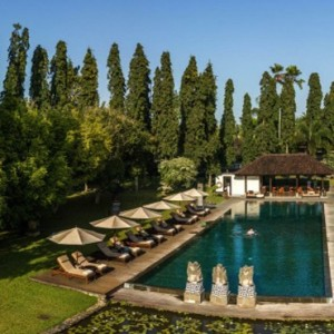 Bali Honeymoon Packages The Chedi Club Tanah Gajah, Ubud Pool Overview