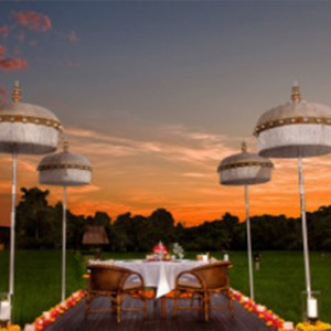 Bali Honeymoon Packages The Chedi Club Tanah Gajah, Ubud Private Dining